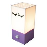 Luminária Infantil Acrílico Lilás Stars 110v Dimerizável