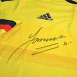 Camiseta Selección Colombia Firmada Por James Rodriguez