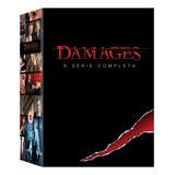 Dvd Box Damages - A Série Completa - 15 Discos - Original