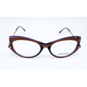 f7cb511e6f19e Óculos De Grau Roberto Cavalli Bisenzio 5021 050 Marrom. R  1.039