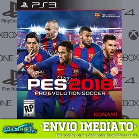 Pro Evolution Soccer 2018 Pes Ps3 Midia Digital Envio Agora!