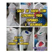 Saco Com Cordinha P/guardar 500 Espumas+bolinhas Kit Com 01