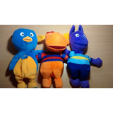 3 Muñecos Peluche Backyardigans Original Nickelodeon Quilmes