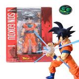 Goku Shfiguarts Dragon Ball Articulable 16cm / 100% Nueva