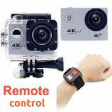 Camara Accion 4k Sensor Sony Control Full Wifi Estabilizador