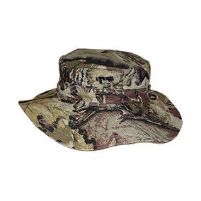 Sombrero Camuflado Forest Leather Tactico Airsoft Caza Gorro