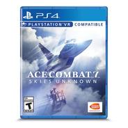 Ace Combat 7: Skies Unknown Ps4 Formato Físico Original