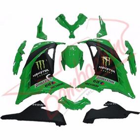 Kit Carenagem Ninja 300 Bombachini Jet&cross