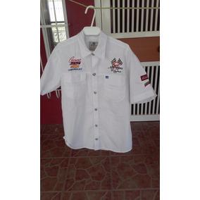 Camisa Marca Safary, Bordado Club Camaro Paraguana