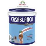 Látex Interior Casablanca Limpia Fácil 20lts Lavable