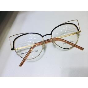 Oculos De Grau Marc Jacobs Preto Gatinho Tendencia -mj404. R  135 3294e21e37