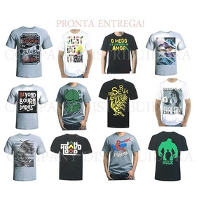 Kit 5 Camisetas Masculina Blusas Baratas Atacado Revenda bf2500b75b6