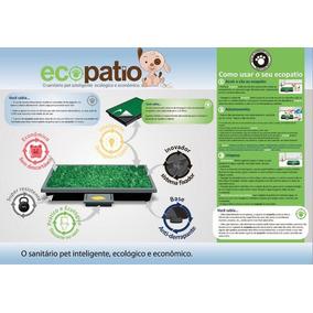 Sanitário Ecopatio Para Cães Ecológico