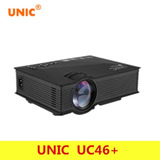 Proyector Mini Uc36 150 Lumens Portatil Led Hd Hdmi Vga Usb