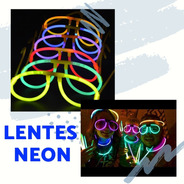 50 Lentes Luminosos Cyalume Neon Boda Cumple Xv Años Dj Bar