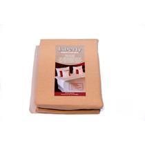 Sabana Ajustable 2 1/2 - Percal 160 Hilos 100% Algodon
