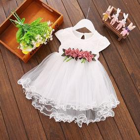 Vestido Infantil Comunhão Daminha Batizado Dama Casamento