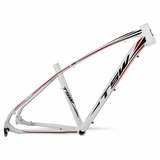 Quadro Tsw Jump Aro 27,5 Branco Alum Bicicleta Mtb Tam 19