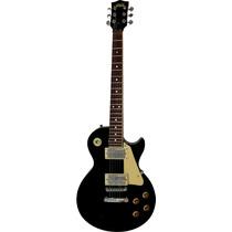 Guitarra S101 Les Paul Black Con Funda Madarozzo By Ritter