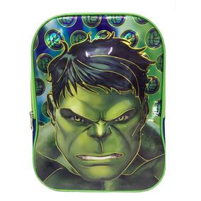 Mochila Escolar Infantil Com Rodinha Hulk