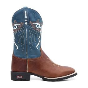 Botas Texanas Cor Principal Azul Claro para Masculino no Mercado ... 4e696778a23