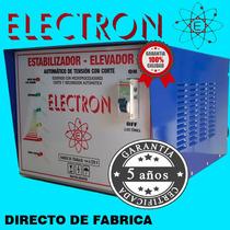 Elevador De Tension 8kw Automatico Eleva 140v. Bobina Cobre