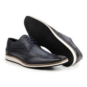 70897a0853 Sapato Louie Brogue Masculino - Sapatos Azul marinho no Mercado ...