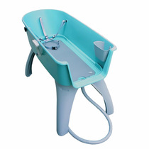 Bañera Mascota Perro Gato Booster Bath Raza Grande Azul