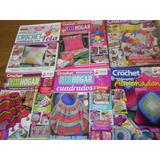 Lote 9 Revistas Evia Para Ti Tejidos Crochet Deco Hogar Pale