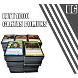 Lote 1000 Cartas Comuns Magic The Gathering Frete Grátis