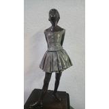 Escultura Bailarina Bronce Degas