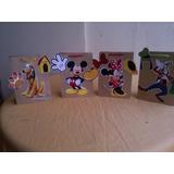 Bolsas Para Cotillones De Mickey. Minnie, Pluto Y Goofy.