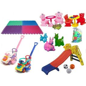 Combo Plaza Blanda 7 Articulos Niños Niñas / Open-toys Avell