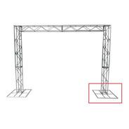 Treliças Box Truss Q20 Aço 1 Base 70x70cm - Lourenço