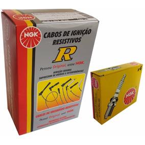 Kit De Velas Ngk E Cabos Ngk Gol G5/g4/fox 1.0/1.6