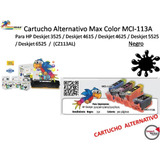 Cartucho Alternativo Max Color Mci-113a/mci-670b P/hp Negro