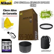 Lente Nikon Af-s 55-300mm D5000 D5100 D5200 D5300 D600