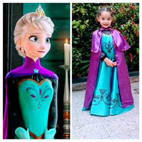Frozen Disfraz De Elsa Antes De La Coronación