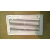 Rejilla Ventilación Metálica De Retorno 15 X 30 Chapa Doble