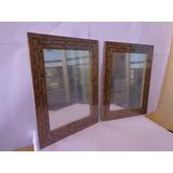 Espelhos(2 Pçs)decorativos P/ Parede Moldura Alto Relevo 6