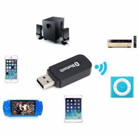 Bluetooth Carro Receptor Usb Som Via Caixas De Som Celular