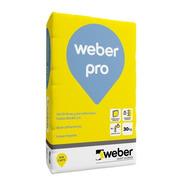 Pegamento Weber Pro  P/porcellanato  X 30 Kg Proyectar