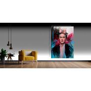 Cuadros Frida Kahlo-80x120cm-tela Canva-super Resolución Uhd