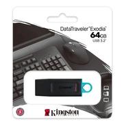 Pen Drive 64gb Kingston Datatraveler Exodia Usb 3.2 Dtx
