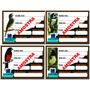 10 Placas De Gaiola, Identificação Pássaros +brinde!!!