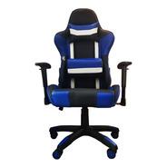 Sillón Gamer Pro Racing Azul