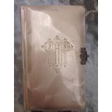 Libro Religioso Cubierta De Concha Nacar