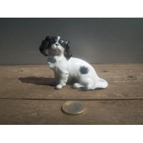 Figura Porcelana Perro Made In Autria