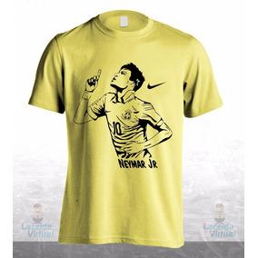 Camisa, Camiseta Neymar Jr Silhueta 1