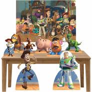 Kit Festa Totens Displays E Painel Toy Story  Lt015p1